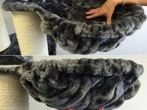 Hangmat 45cm de Luxe Dark Grey Ø 12cm
