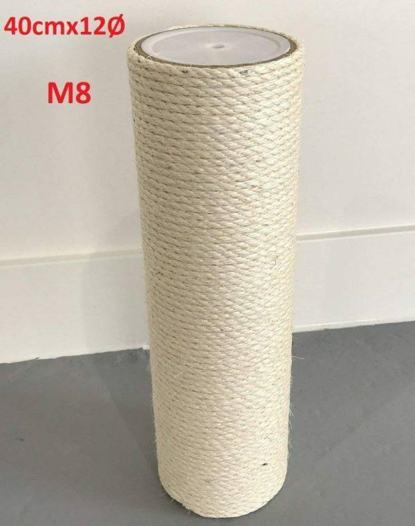 Krabpaal onderdelen Sisalpaal 40x12 M8