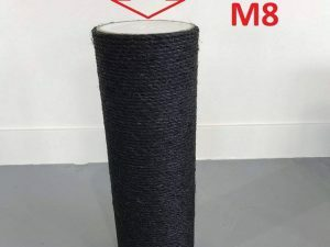 Sisalpaal 50x15 M8 onderdeel voor BLACKLINE krabpaal