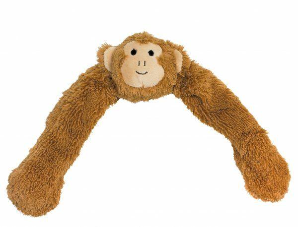 Speelgoed hond pluche aap bruin 55,5cm