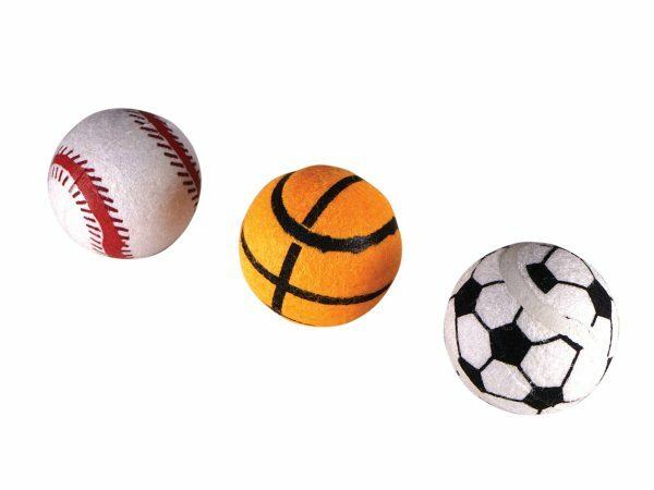 Speelgoed hond vinyl sportsballen 6,5cm(3)