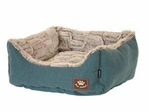 Hondenmand Asma blauw/grijs 45x40x19cm