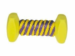 Speelgoed training hond nylon halter koord 13,5cm