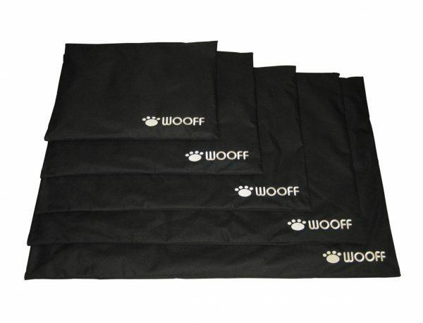 Platte matras Wooff zwart 80x120 cm