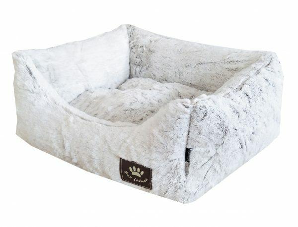 Hondenmand Snowhite wit 45x40x18cm