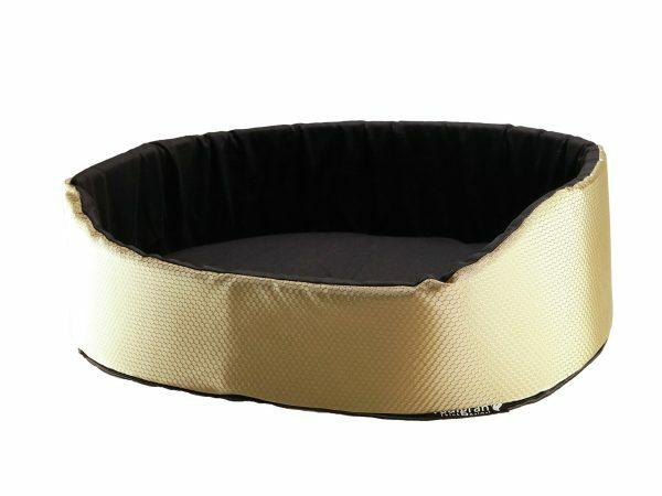 Hondenmand All Seasons goud 40x25x18cm