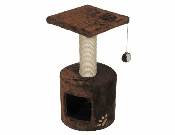 Kattenklim Bongo bruin 30x30x59cm