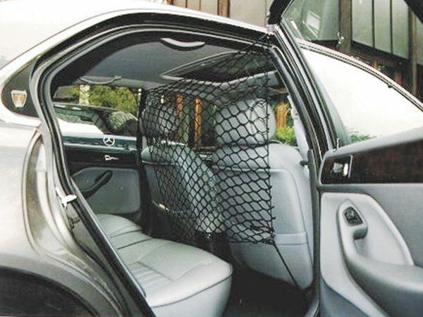 Veiligheidsnet voor auto nylon 86 x 64 cm