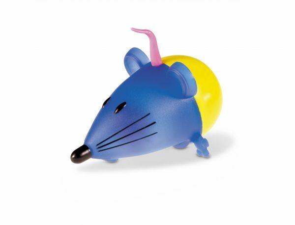 Speelgoed kat wiebel muis 11cm