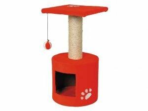 Kattenklim Bongo rood 30x30x59cm