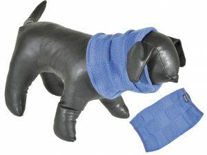 Sjaal blauw 30cm