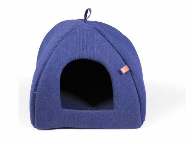 Tipi Bluedenim donkerblauw 40x40x35cm
