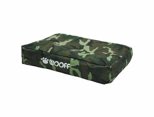 Matras Wooff camouflage 75x55x15cm