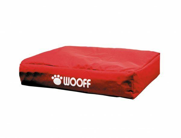 Matras Wooff rood 75x55x15cm