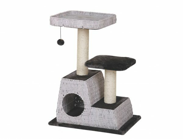 Kattenklim Lipeo grijs/antraciet 60x40x83cm