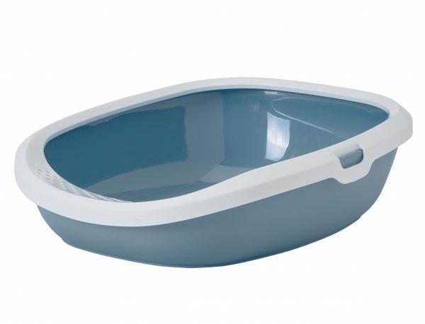 Kattenbak Gizmo Earth Blue L 52x39,5x15cm