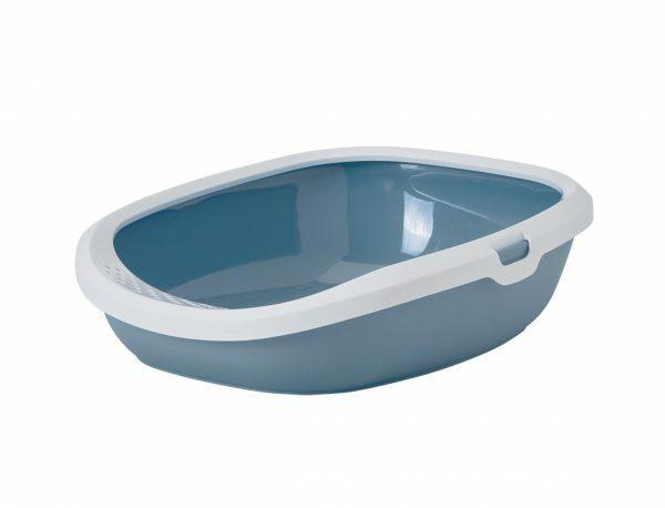 Kattenbak Gizmo Earth Blue M 44x35,5x12,5cm