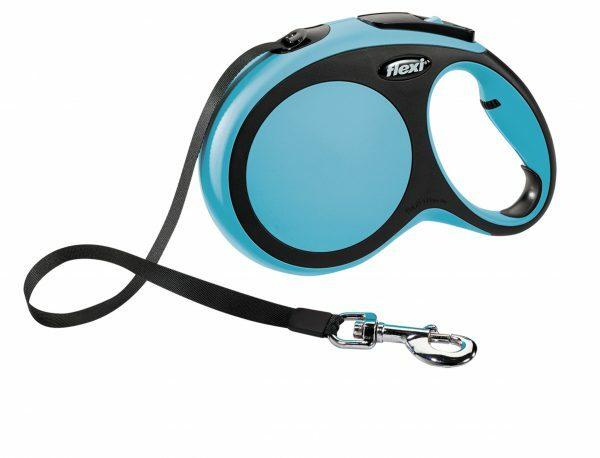 Flexi Comfort blauw L (riem 8 m)