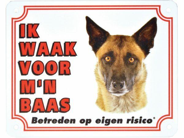 Waakbord S Mechelse herder NL