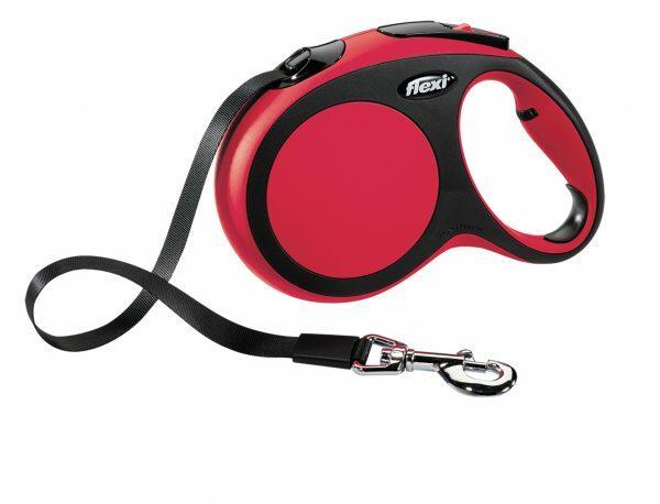 Flexi Comfort  rood L(riem 5 m)