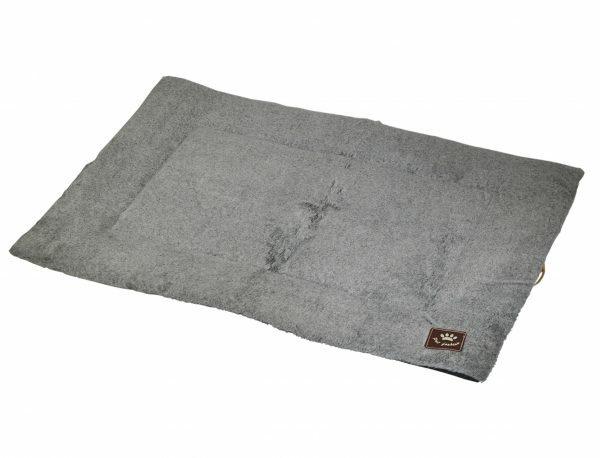 Platte matras Coban lichtgrijs 107x69cm