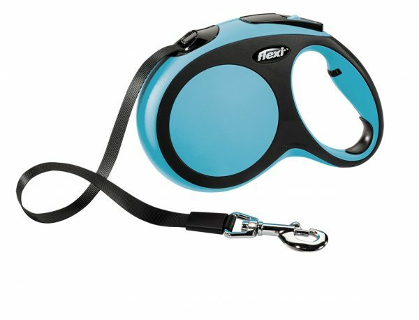 Flexi Comfort blauw L (riem 5 m)