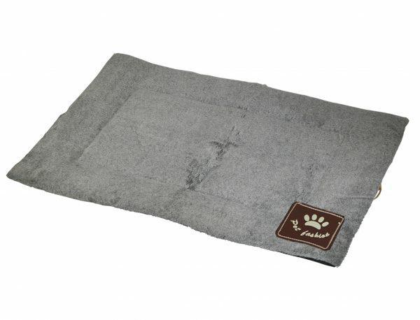 Platte matras Coban lichtgrijs 53x31cm
