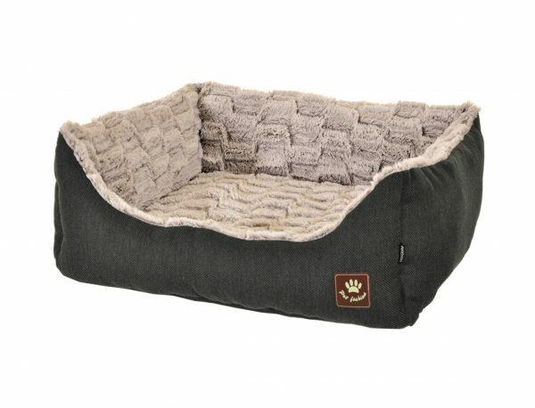 Hondenmand Asma antraciet/grijs 60x48x19cm