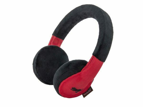 Speelgoed hond Globetrotter hoofdtelefoon 21cm
