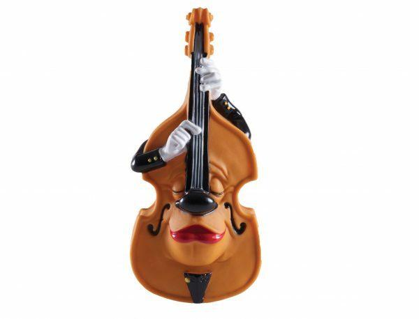 Speelgoed hond vinyl cello 24cm