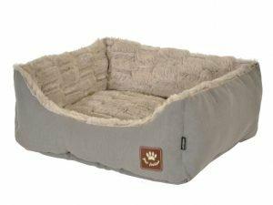 Hondenmand Asma taupe/grijs 75x60x23cm