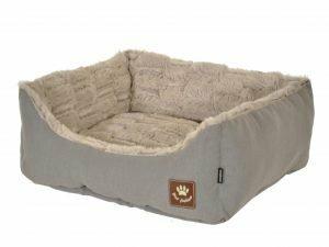 Hondenmand Asma taupe/grijs 45x40x18cm