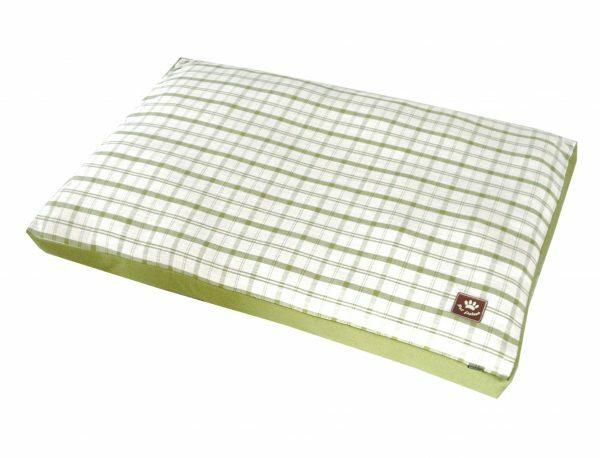 Matras Checker groen 75x55x10cm