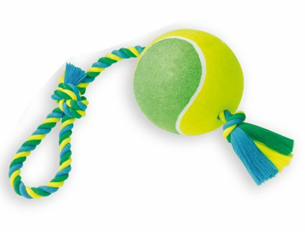 Spgd hond katoen trekkoord+tennis 800gr 55cm