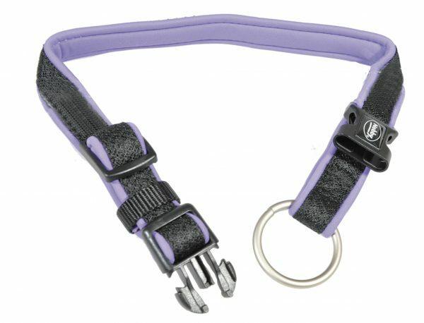 Halsband nylon Mesh Preno paars 25/35mmx40-55cm