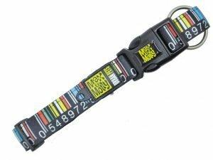 Halsband Barcode XS 10mmx22-35cm
