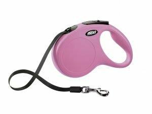 Flexi Classic roze M (riem 5 m)