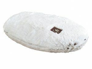 Kussen Snowhite wit 57x37cm