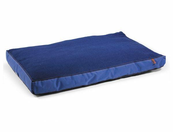 Matras Bluedenim donkerblauw 110x70x10cm