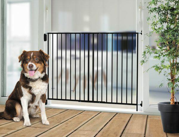 Afsluiting deurhek hond