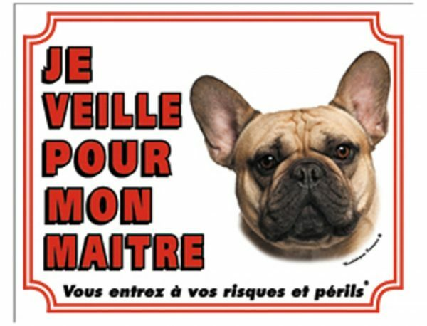Waakbord Franse Buldog FR