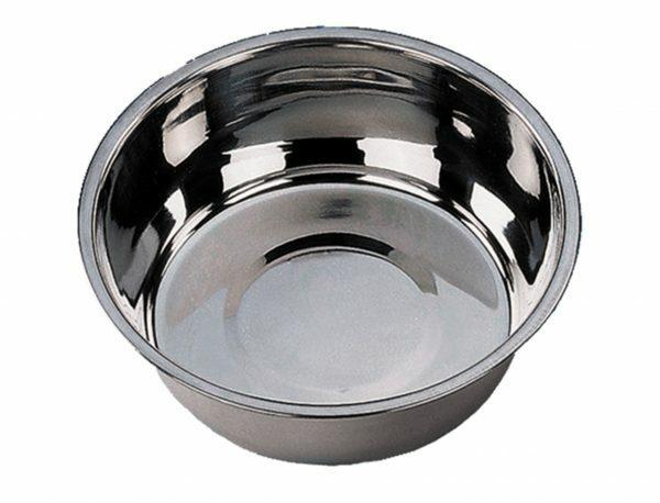 Eetpot inox plat 11 cm  0,3 L