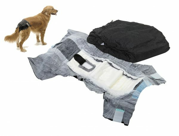 Hondenpamper Comfort Nappy nr1 buikomtrek: 32-42cm