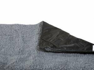 Tapijt grijs voor Classic draadkooi 58x41cm