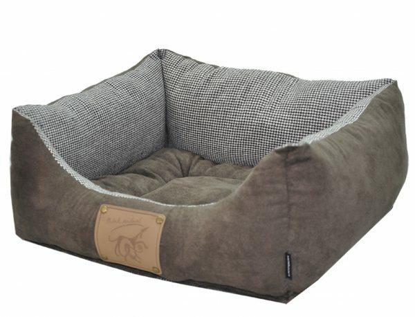 Hondenmand Laponie brun/koffie 75x60x23cm
