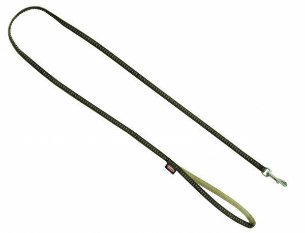 Leiband nylon Soft Grip bruin 20mmx120cm