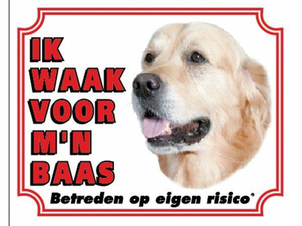 Waakbord S Golden Retriever NL