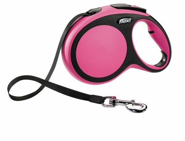 Flexi Comfort roze L (riem 8 m)