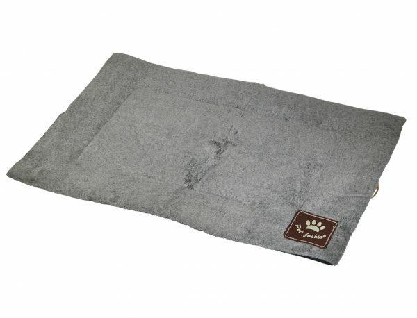 Platte matras Coban lichtgrijs 59x45cm
