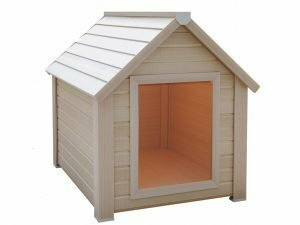 Hondenhok PolyWood Cordoba2 beige 92,2x79,8x92,6cm